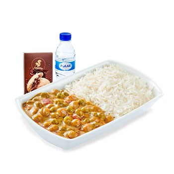 Veggie Korma with Basmati Rice